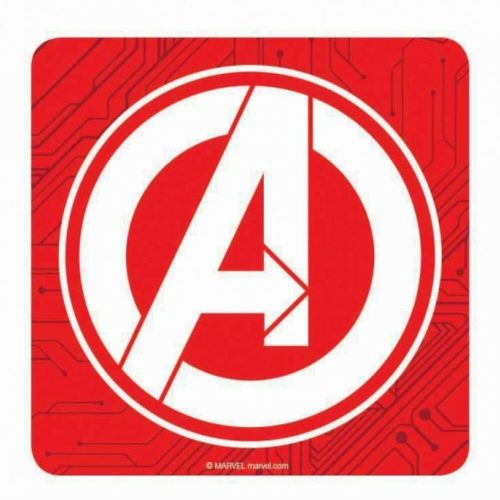 Marvel Comics Avengers Logo Single Coaster Drinks Mat